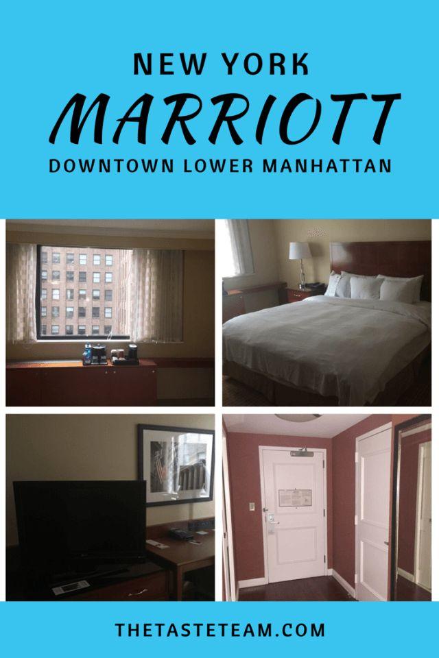 New York Marriott Downtown New York Lower Manhattan