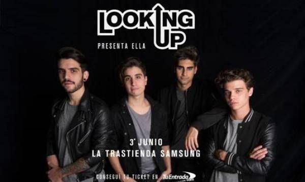 LOOKING UP en La Trastienda