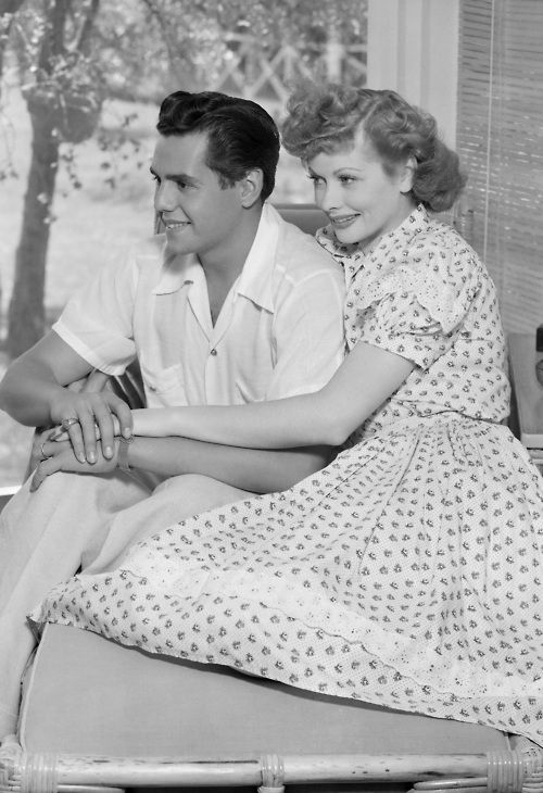 """""""My wife can do anything. If you tell her she can't, she'll surprise you the next week.She'll not only be good, she'll be Lucy"""" - Desi Arnaz"""