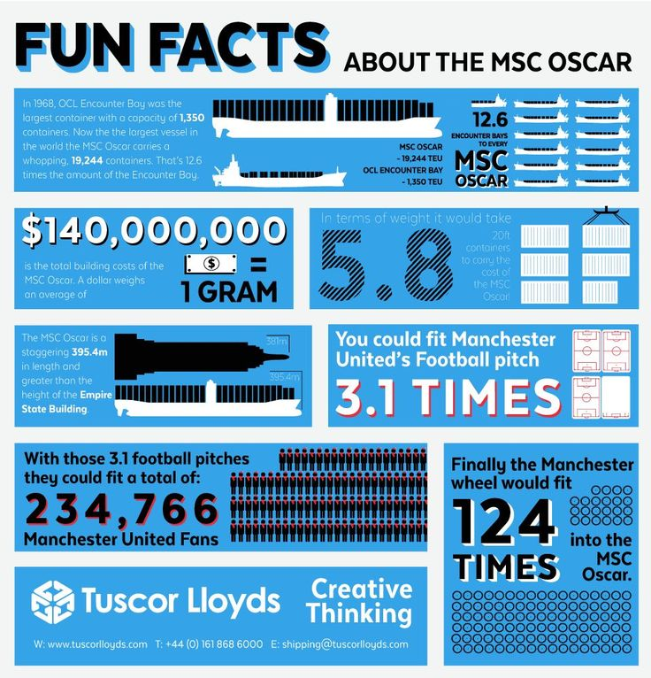 Infographic: MSC Oscar Fun Facts
