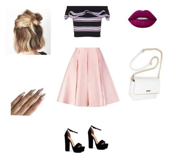 """Salsa Class"" by emily-montesano on Polyvore featuring MSGM, Emilia Wickstead, Boohoo and Lime Crime"
