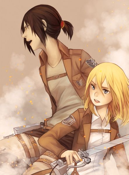Ymir and Krista // AoT