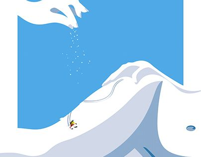 "Check out new work on my @Behance portfolio: ""Skiing"" http://be.net/gallery/53796039/Skiing"