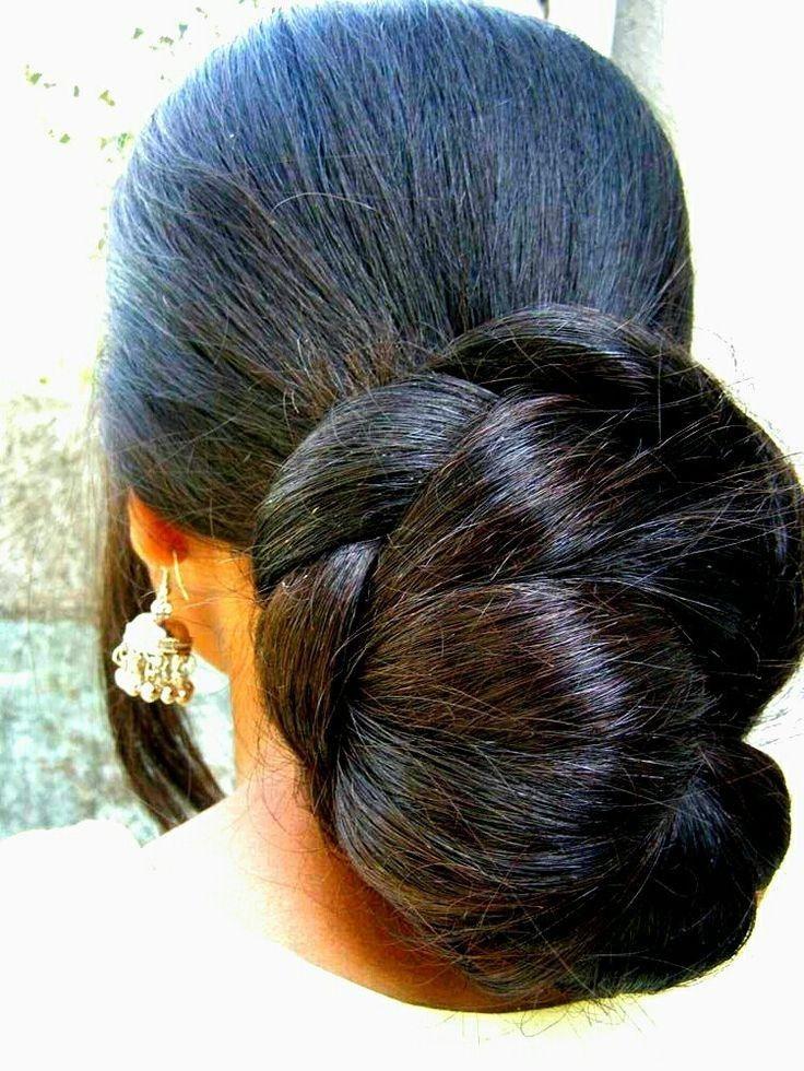 Pin By H R Hasan On Nice Indian Buns Bun Hairstyles For Long Hair Long Hair Styles Big Bun Hair