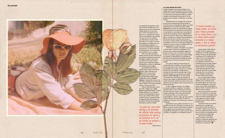 En portada: Lana del Rey  Marvin 146: Capital
