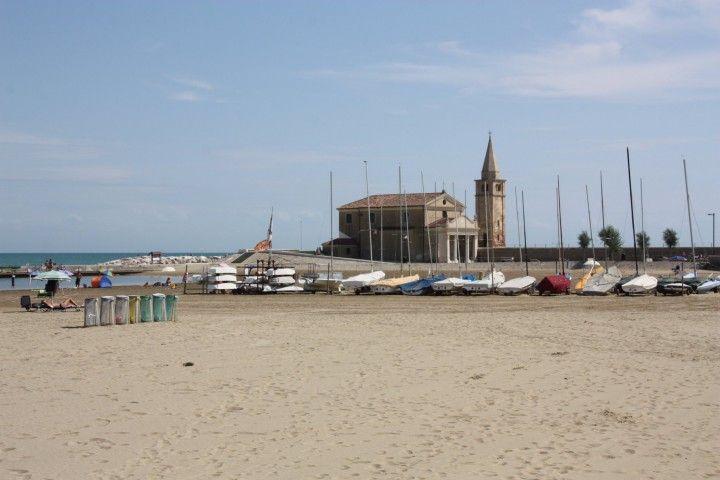 Beach of #Caorle, #Italy