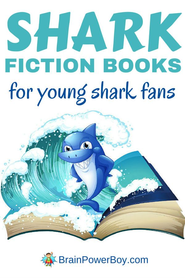 Seven fiction shark books perfect for young readers. They are great for shark week or any time your shark fan wants something good to read. Click for list.