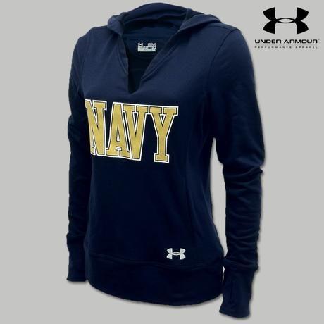 Official Navy Women's Sweatshirts & Hoodies- Buy Licensed Navy Women Crewneck and Hooded Sweatshirts Online