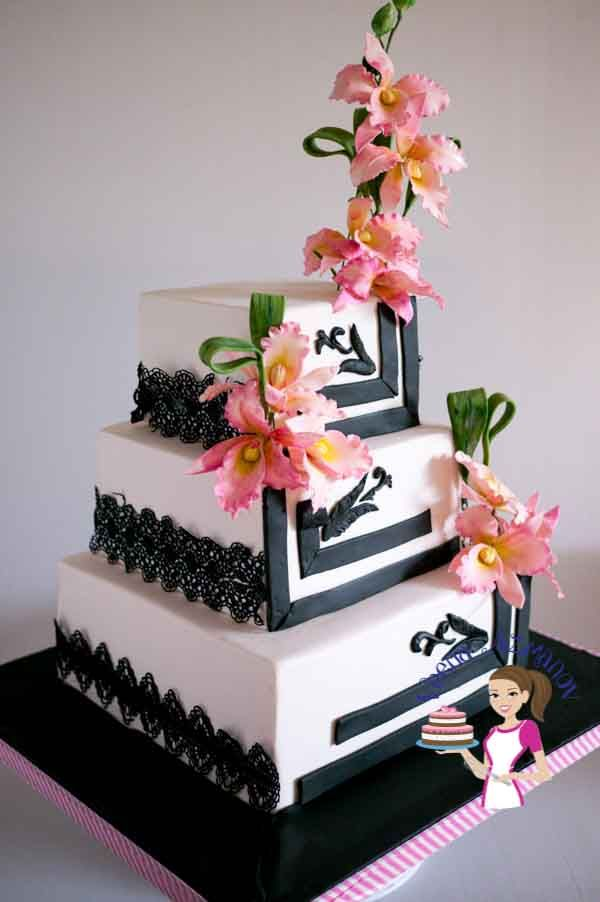 Orchids Black wedding (48)