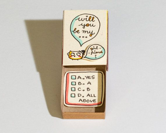 Will you be my girlfriend/ boyfriend Card/ Proposal by shop3xu