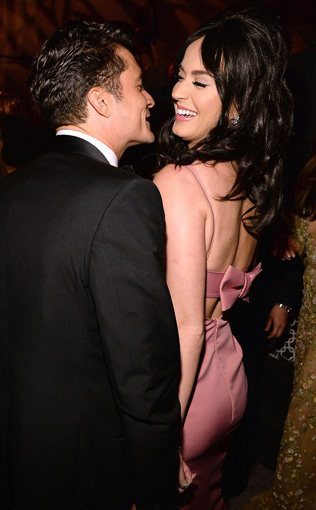Katy Perry and Orlando Bloom Spotted Getting Flirty During Golden Globes After Parties (Cue the Dating Rumors!) | E! Online