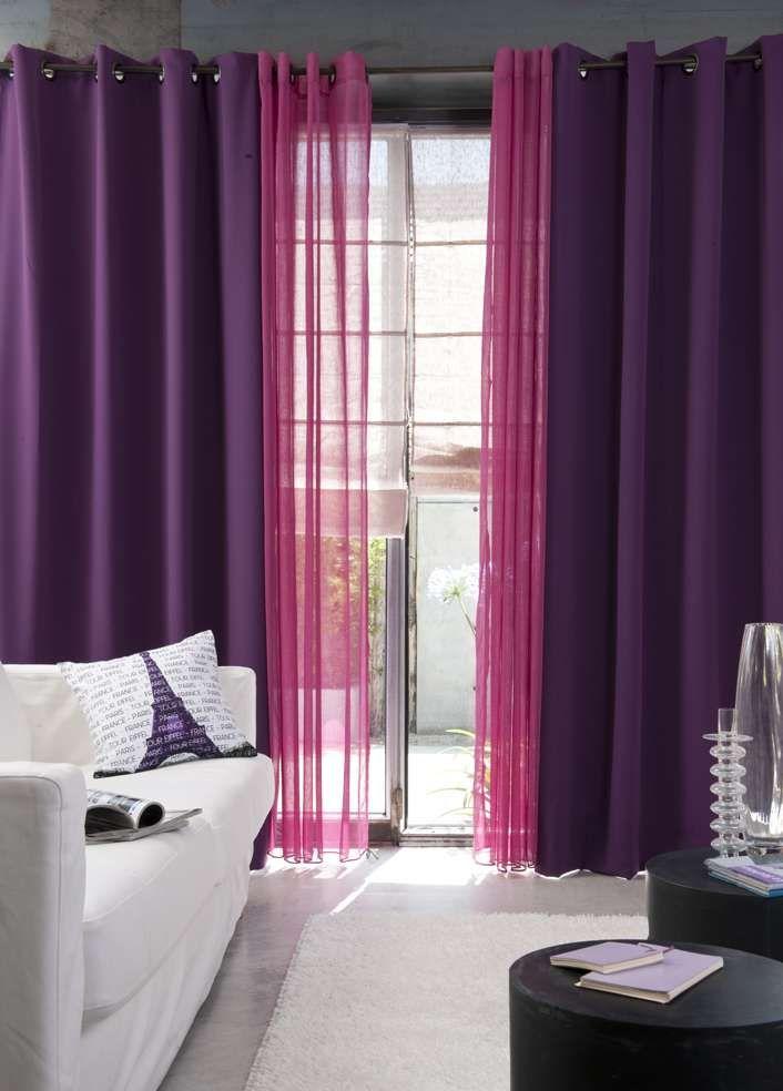 78 id es propos de rideaux oeillets sur pinterest. Black Bedroom Furniture Sets. Home Design Ideas