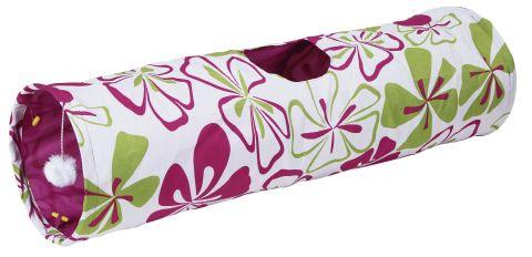 Kattleksak tunnel flowers | Supercat.se Kattbutik