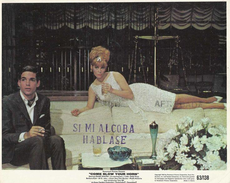 "Barbara Rush Tony Bill in ""Come Blow Your Horn"" Original Vintage L Card 1963   eBay"