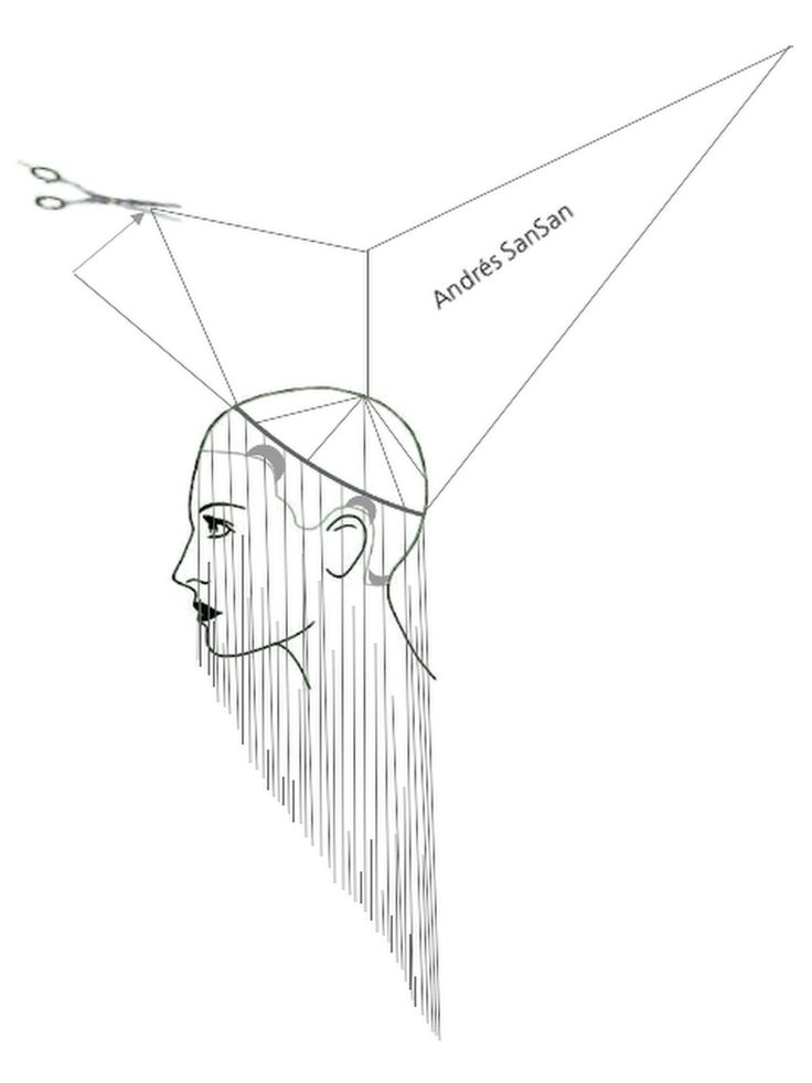 best 25  hair cutting techniques ideas on pinterest