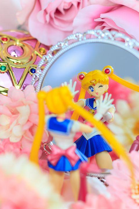 @Kristin West Moon Make Up!! http://www.moonkitty.net/buy-bandai-tamashii-nations-sailor-moon-sh-figuruarts-figures-models.php Tamashii Nations Sailor Moon Figure.  #SailorMoon