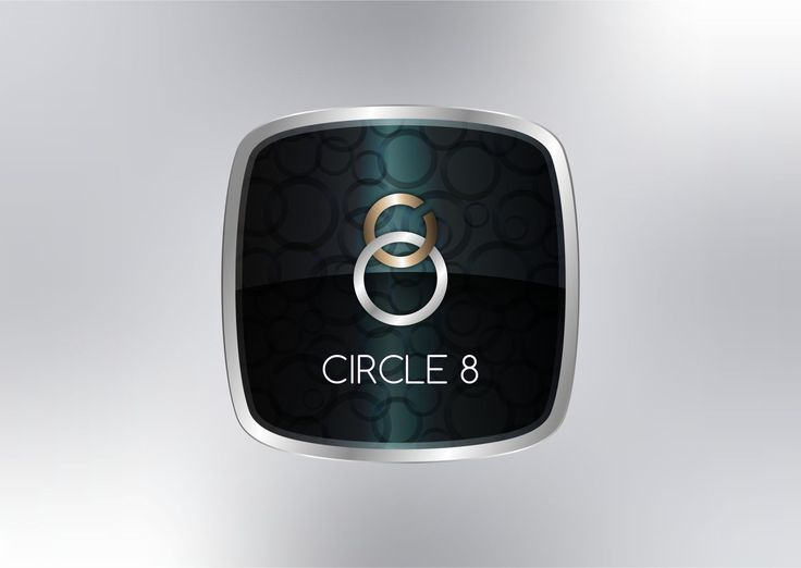 Circle 8 - Logo Design By Ronny Achmαϑ #logo #design #inspiration