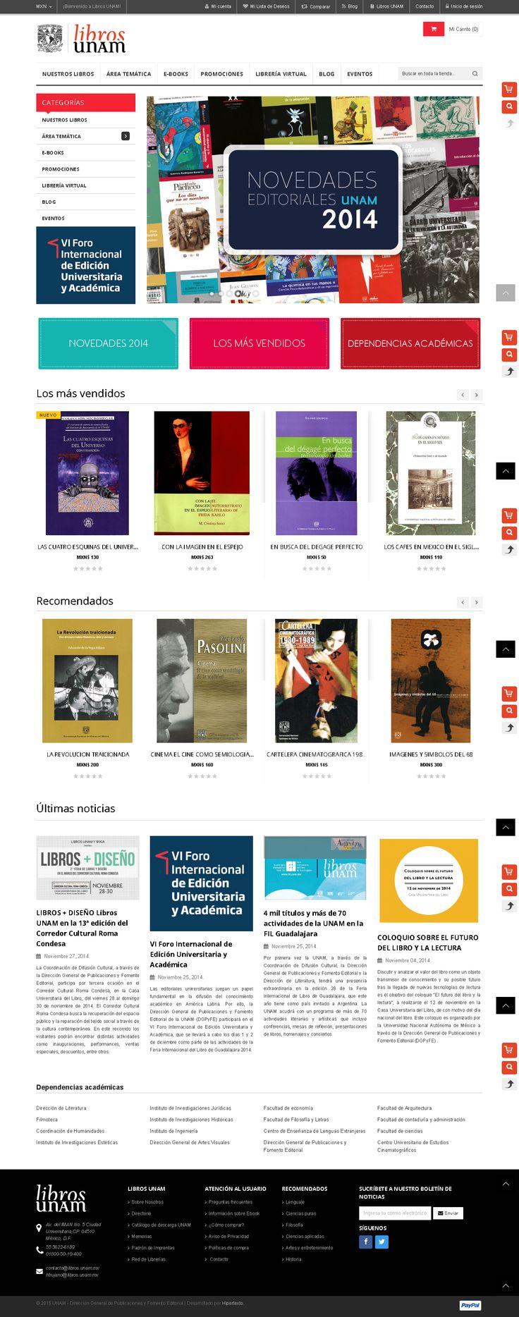 Libros UNAM pagina completa!