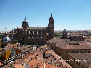 Salamanca, vista desde las Torres de la Clerecía-