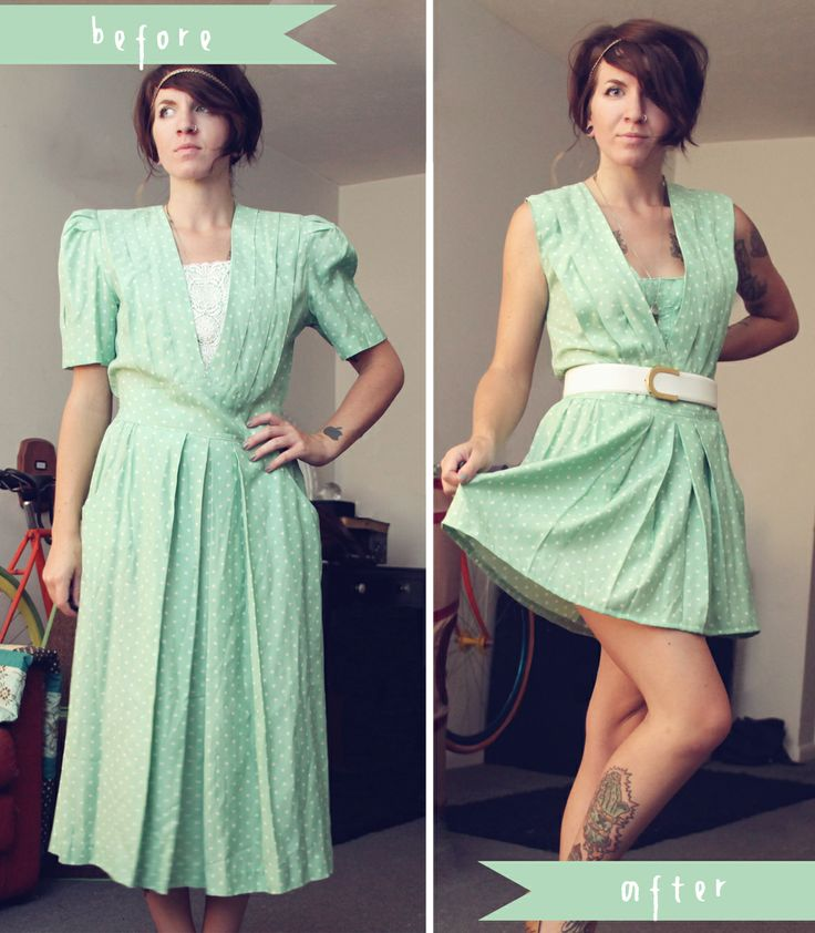 mini penny refashioned green dress i always see these dresses at the thrift stores