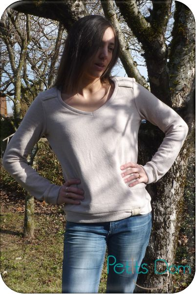 Pull courcelles Cosi Luttle World