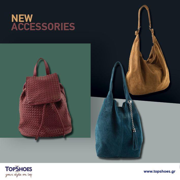 Dress and impress! Τίποτε δεν αναδεικνύει καλύτερά το ντύσιμό σας από μια in-style τσάντα! Ανακαλύψτε τις τσάντες Topshoes και απογειώστε το προσωπικό σας στιλ! Δείτε όλα τα accessories εδώ: https://goo.gl/u5tjFe