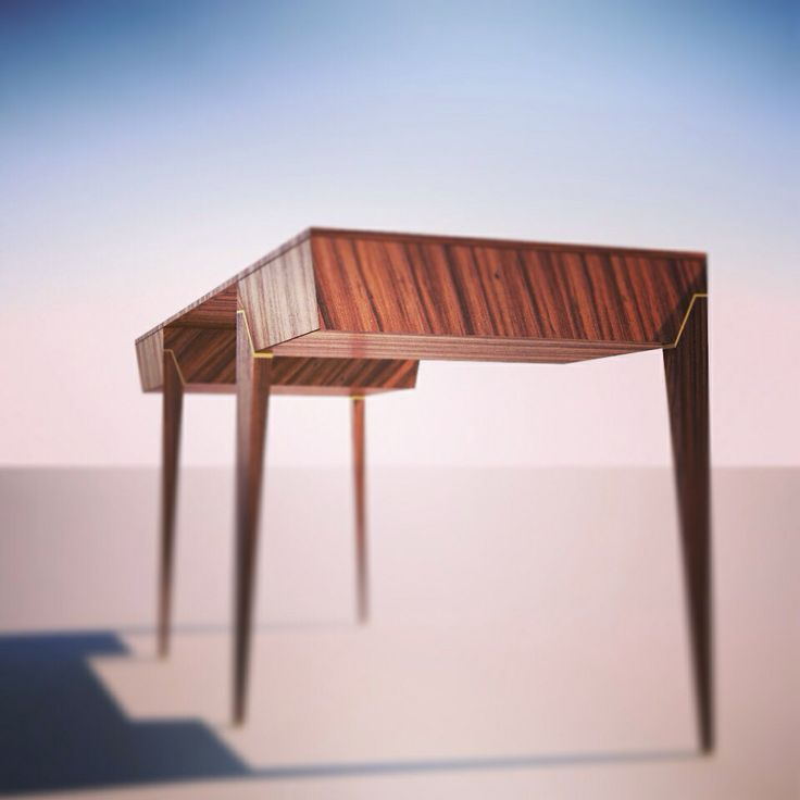 Work/writing table designed by Metamorphous Interiors