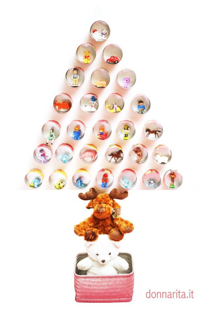 STORIA DI UN BARATTOLO Albero di Natale Idea Natale Raffaella Castagna per Donnarita Magazine
