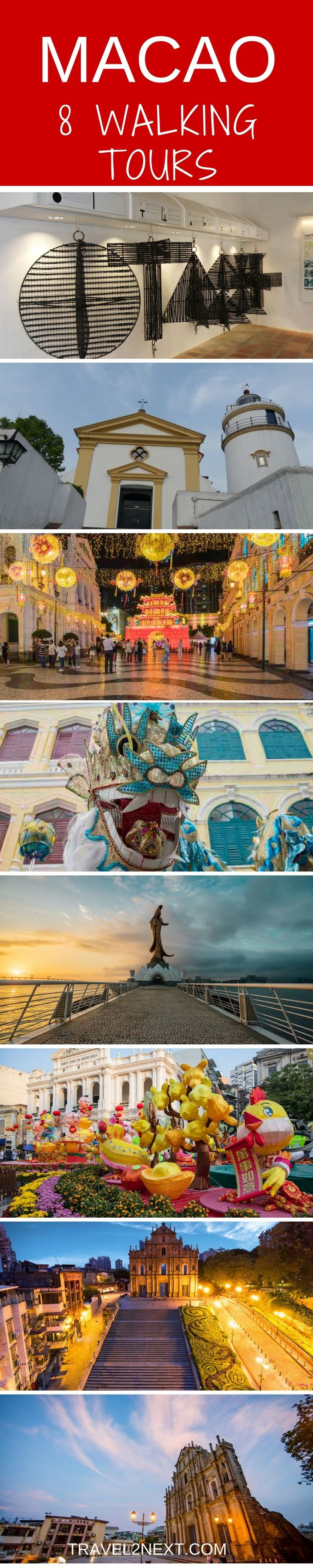 Macao Tourist Spots and Hidden Gems – 8 Self-Guided Walking Tours. One of the advantages of Macao is its compact size.