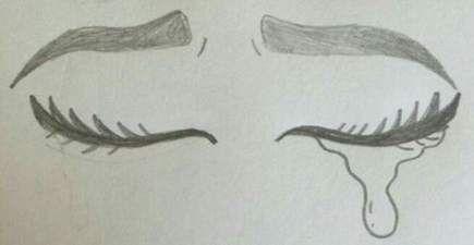15+ Ideas For Drawing Ideas Sad Feelings Eyes