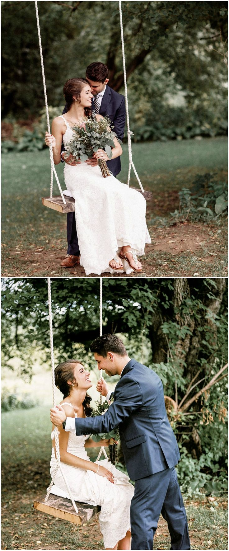 Rope swing, wedding photography, posing ideas // Marc Andreo Photography