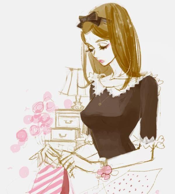 Art by manga artist Hiromi Matsuo.