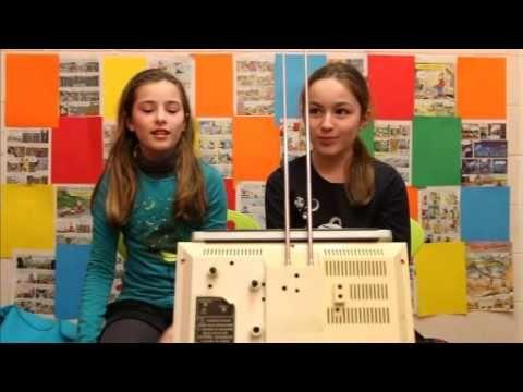 Les enfants du XXIe siècle - une série de vidéos où les élèves parlent de sujets différents (la télé, la nutrition, etc.).