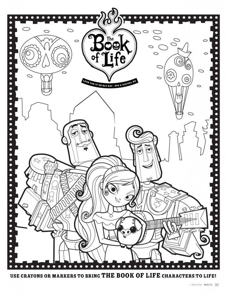 Manolo Maria Y Joaquin The Book Of Life Dibujos Para
