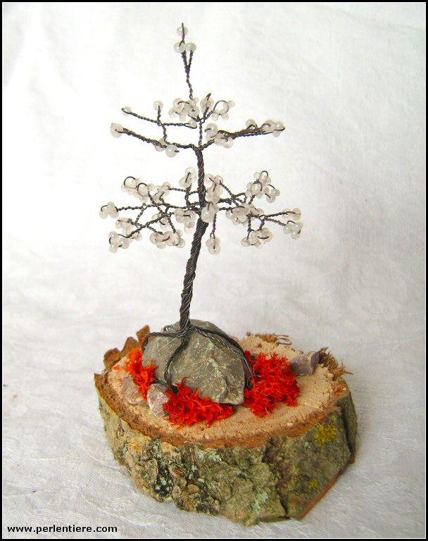 18 best Perlenkunst-Eigenkreationen: Bäume & Pflanzen images on ...