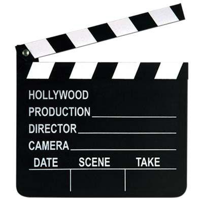Movie Set Clapboard (12 each) - at Bulk Party Supplies