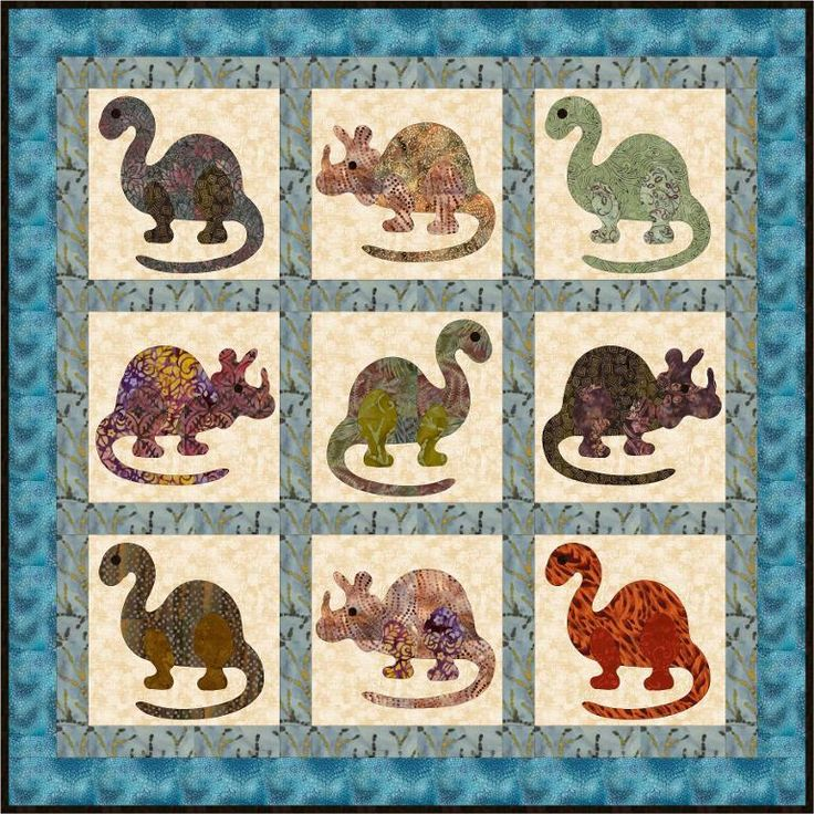Free Quilt Patterns From Pinterest : Free Quilt Pattern: Dino Rar! Free Quilt Patterns Pinterest Quilt, Quilt patterns and Love