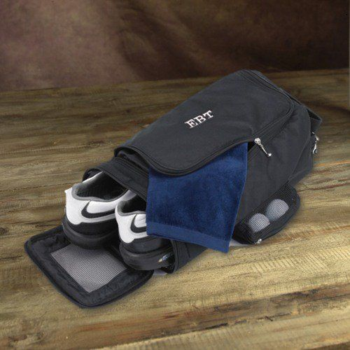 For any man who loves to golf, this personalized golf shoe bag makes the perfect gift.