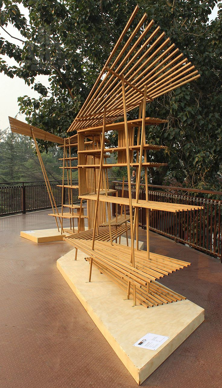 Bamboo structure the bamboo structure is suited - Elevation Workshop Installation For Beijing Design Week Designboom Architecture Design Magazine Bamboo Structuredesign