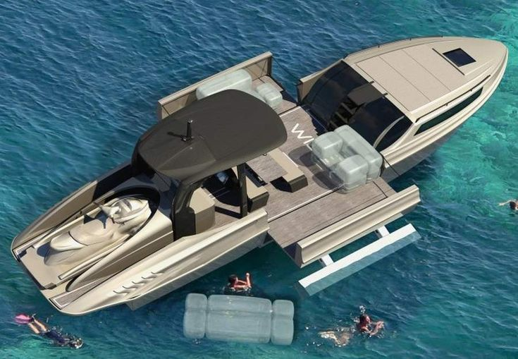 Wider Yachts conceives a unique concept yacht able to change and adapt, offering total comfort and pure relaxation, without losing the performance.