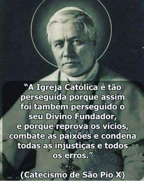 Resultado de imagem para perseguição a igreja catolica frases
