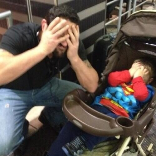 Wade Barrett being adorable