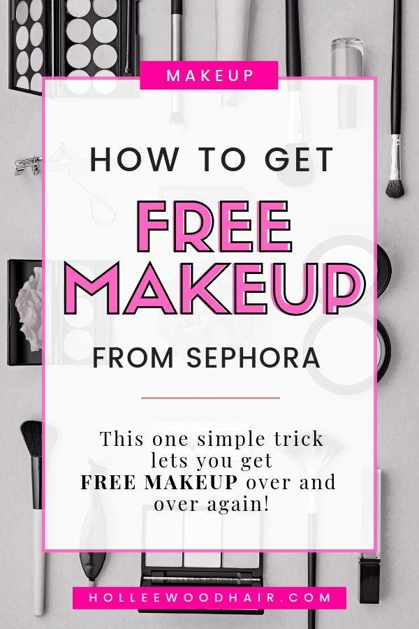How To Get Free Makeup From Sephora In 2020 Get Free Makeup Free Makeup Free Makeup Samples Mail