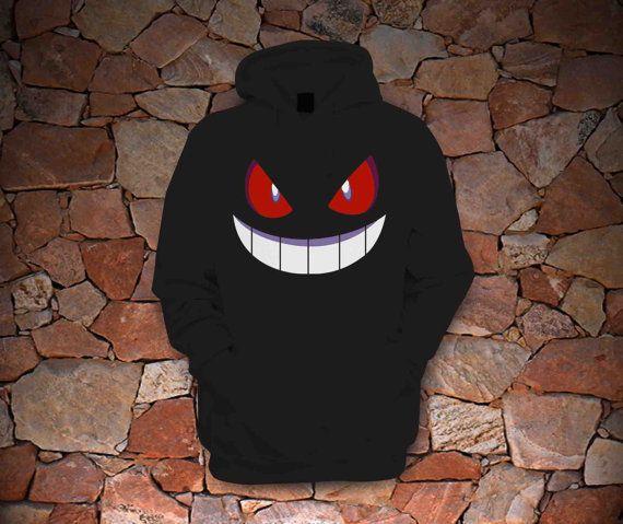 pokemon gengar hoodie on Wanelo