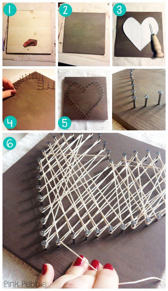les 20 meilleures id es de la cat gorie tableau clou ficelle sur pinterest art filaire cadena. Black Bedroom Furniture Sets. Home Design Ideas
