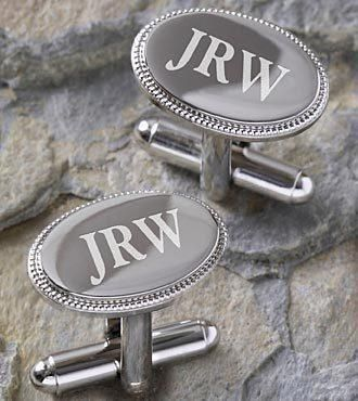 The Personalized Elite Collection Silver Engraved Cuff Links will give your special man a polished look with its sophisticated styling. Featuring polished rhodium plated brass with a... More Details