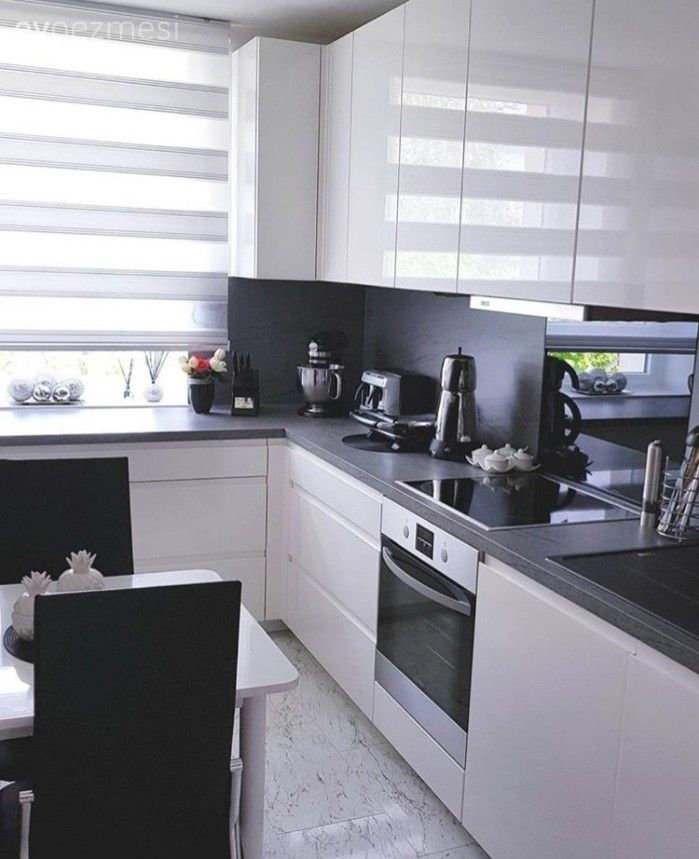 Beyaz mutfak, Modern mutfak, Mutfak