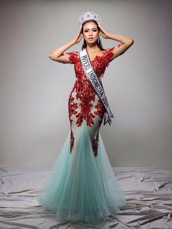 Miss Universe Indonesia 2014 Elvira Devinamira