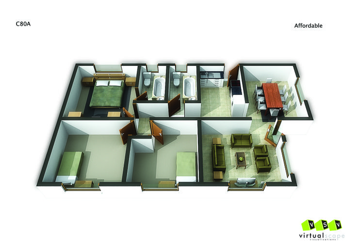 Affordable Unit ,80 A. Go to website: bit.ly/1hcfKVn #affordablehousing #property #developments