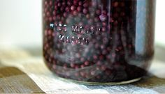 Elderberry elixir... This is so good with rum and honey instead of vodka and sugar. And a proven flu buster!